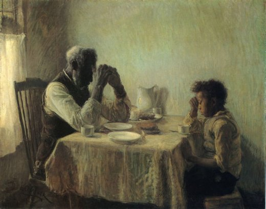 Henry Ossawa the thankful poor